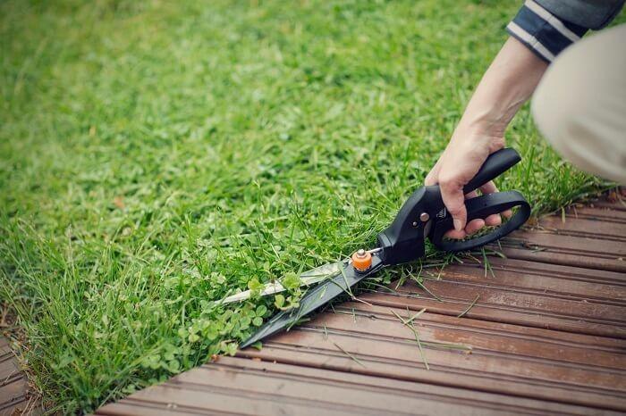 Финские ножницы для травы Фискарс