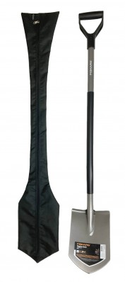 Чехол черный на лопату Fiskars Ergonomic 131427 (1001568), фото 8