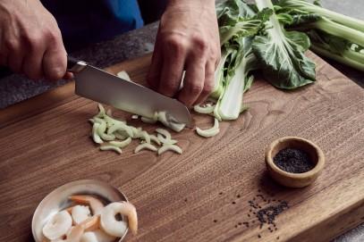 Нож Большой поварской Fiskars Titanium 20 см 1027294, фото 4