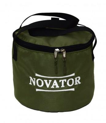 Ведро для прикормки с кришкой Novator VD-2 (30x23 см) 201956, фото 1
