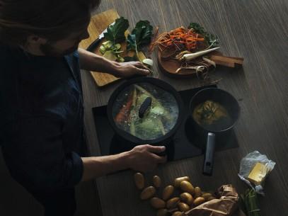 Сковорода для блинов Fiskars Hard Face 22 см 1052229, фото 6
