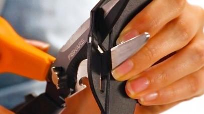 Многофункциональные ножницы Fiskars Cuts+More лезвия с титановым покрытием 23 см 1000809, фото 16