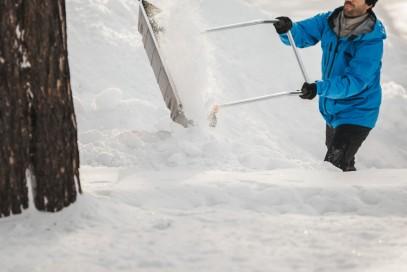 Скрепер-волокуша для уборки снега Fiskars SnowXpert 143021 (1003470), фото 5
