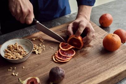 Нож Малый поварской Fiskars Titanium 16 см 1027296, фото 6