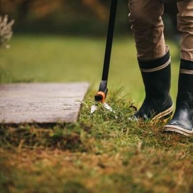 Удлиненные ножницы для травы с Серво-системой Fiskars  GS46 113690 (1000590), фото 2