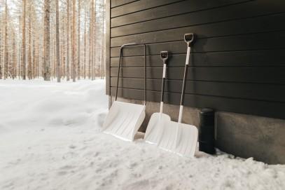 Алюминевая лопата Fiskars для снега и зерна (1001637), фото 7