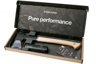Подарочный набор Fiskars Norden splitting axe N12 + sharpener SET 1052277, фото 2
