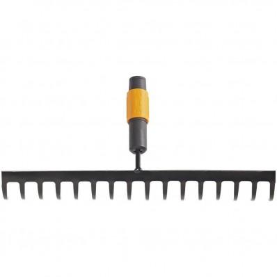Грабли для грунта 16 зубьев Fiskars QuikFit 135512 (1000654), фото 1