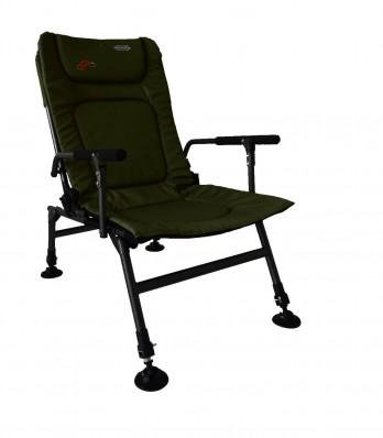 Кресло карповое Novator SR-2 + подставка Novator Pod-1 201917P, фото 4
