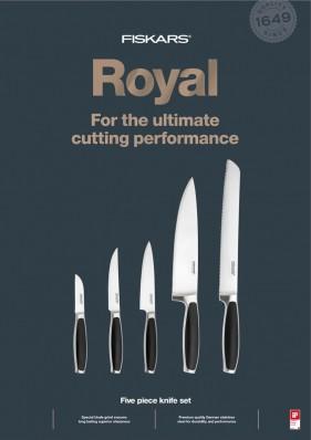 Набор кухонных ножей Fiskars Royal 5 шт 1020242, фото 1