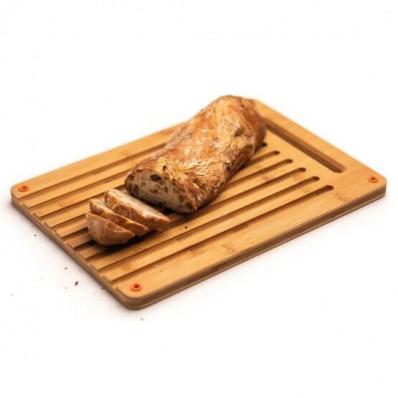 Разделочная бамбуковая доска для хлеба Fiskars Functional Form™ 1059230, фото 2