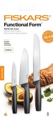 Набор кухонных ножей Fiskars Functional Form ™ 3 шт 1057559, фото 1