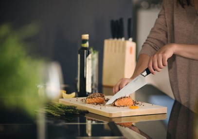 Поварской нож Fiskars Functional Form Plus 20 см 1016007, фото 4