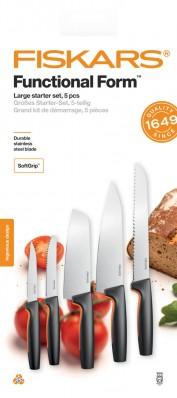 Набор кухонных ножей Fiskars Functional Form ™ 5 шт 1057558, фото 1