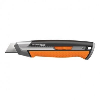 Нож с выдвижным лезвием Fiskars Pro CarbonMax™ 25 мм (1027228), фото 1