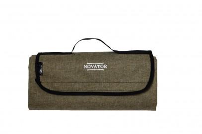 Коврик каремат для кемпинга Novator Picnic Brown 200х150 см 201950, фото 1