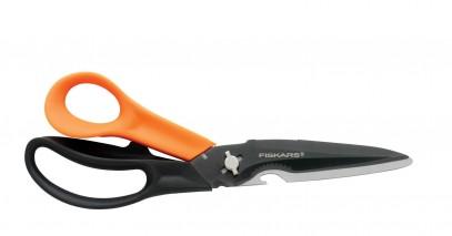 Многофункциональные ножницы Fiskars Cuts+More лезвия с титановым покрытием 23 см 1000809, фото 3