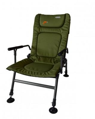 Кресло карповое Novator SR-2 + подставка Novator Pod-1 201917P, фото 3