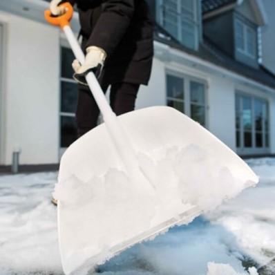 Лопата для уборки снега Fiskars White SnowXpert 141002 (1003605), фото 3