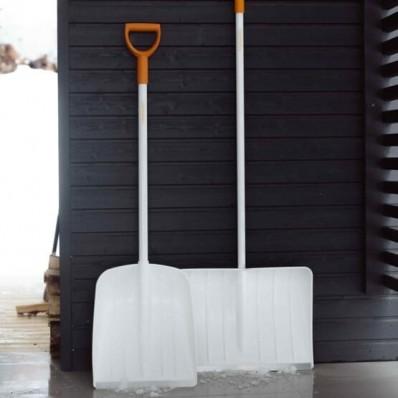 Лопата для уборки снега Fiskars White SnowXpert 141002 (1003605), фото 4