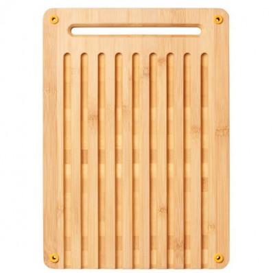Разделочная бамбуковая доска для хлеба Fiskars Functional Form™ 1059230, фото 1