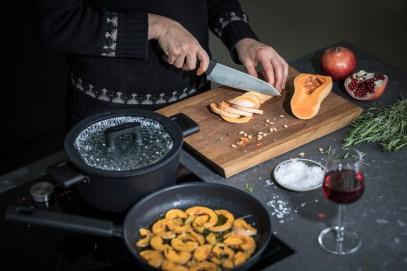 Сковорода для блинов Fiskars Hard Face 22 см 1052229, фото 5