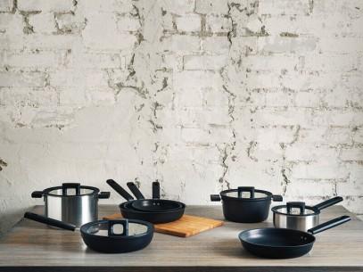 Сковорода для блинов Fiskars Hard Face 22 см 1052229, фото 3