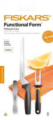 Набор кухонных ножей для рыбы Fiskars Functional Form ™ 3 шт 1057560, фото 1