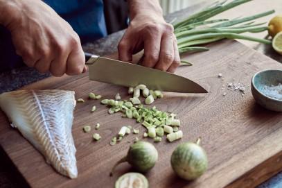 Нож Большой поварской Fiskars Titanium 20 см 1027294, фото 3