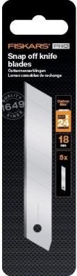 Сменные лезвия Fiskars Pro CarbonMax™ 18 мм 5 шт. (1027232), фото 1