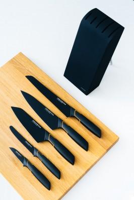 Кухонный нож Fiskars Edge для овощей 8 см Black 1003091, фото 4