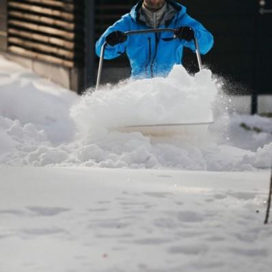 Скрепер-волокуша для прибирання снігу Fiskars White Snow 1052523, фото 4