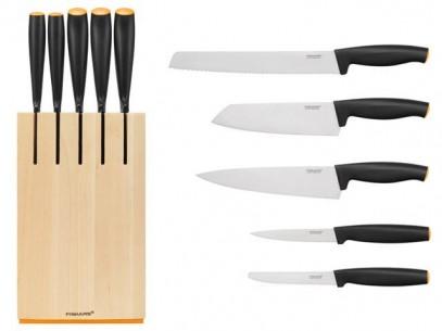 Набор ножей в блоке Fiskars Functional Form 5 шт 1014211, фото 2