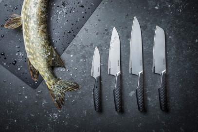 Нож Сантоку Fiskars Titanium 16 см 1027295, фото 4
