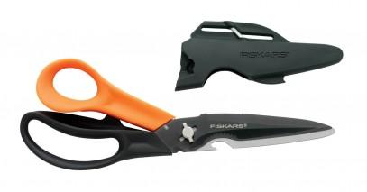 Многофункциональные ножницы Fiskars Cuts+More лезвия с титановым покрытием 23 см 1000809, фото 5