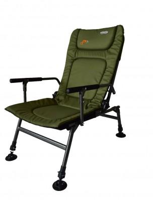 Кресло карповое Novator SR-2 + подставка Novator Pod-1 201917P, фото 2