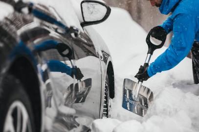 Автомобильная лопата Fiskars SnowXpert 143072 (1019347), фото 5