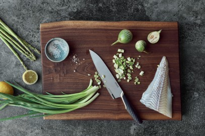 Нож Большой поварской Fiskars Titanium 20 см 1027294, фото 6
