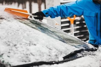 Скребок для льда и щетки Fiskars SnowXpert 143062 (1019352), фото 5
