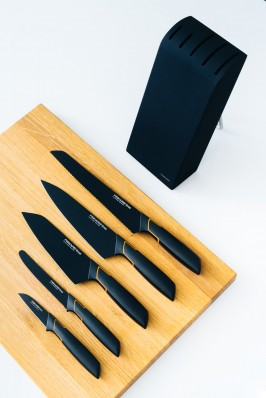 Кухонный нож Fiskars Edge для томатов 13 см Black 1003092, фото 6