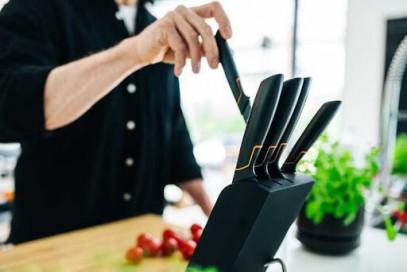 Набор ножей в блоке Fiskars Edge 5 шт 1003099, фото 4