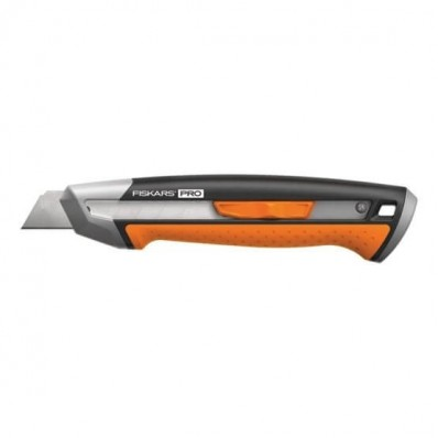 Нож с выдвижным лезвием Fiskars Pro CarbonMax™ 18 мм (1027227), фото 1