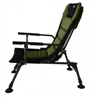 Кресло карповое Novator SR-2 Comfort + подставка Novator Pod-1 Comfort 201918P, фото 4