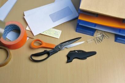 Многофункциональные ножницы Fiskars Cuts+More лезвия с титановым покрытием 23 см 1000809, фото 17