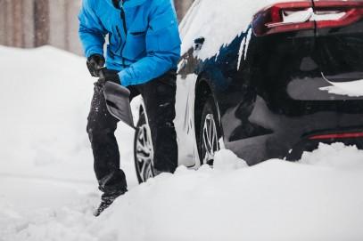 Автомобильная лопата Fiskars SnowXpert 143072 (1019347), фото 7
