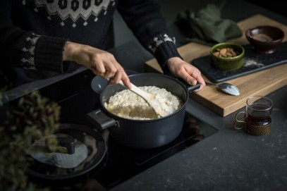 Сковорода Fiskars Hard Face Frying Pan 28см Steel 1025250, фото 6