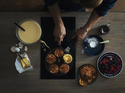 Сковорода для блинов Fiskars Hard Face 22 см 1052229, фото 2