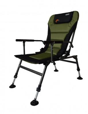 Кресло карповое Novator SR-2 Comfort + подставка Novator Pod-1 Comfort 201918P, фото 10