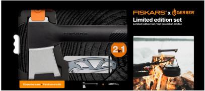 Набор Fiskars топор плотницкий малый Solid A6 (1052046) + Складной нож Gerber Paraframe™ (1027831) 1057911, фото 1