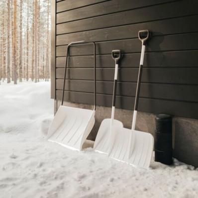 Скрепер-волокуша для прибирання снігу Fiskars White Snow 1052523, фото 3